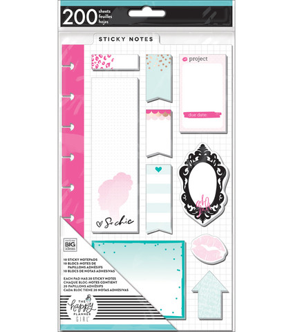 The Happy Planner Girl: Glam Girl  Sticky Notes