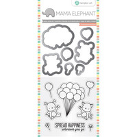 Mama Elephant Stamp & Die: Up We Go