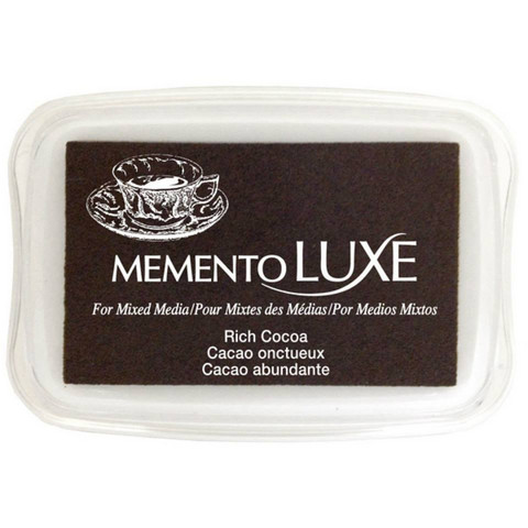 Memento Luxe: Rich Cocoa -mustetyyny