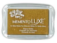 Memento Luxe: Peanut Brittle -mustetyyny
