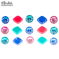 Self-Adhensive Gemstones: Pink/Navy/Teal