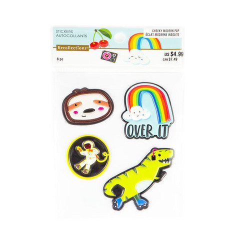 Patch Stickers: Modern Pop Rainbow -tarrapakkaus