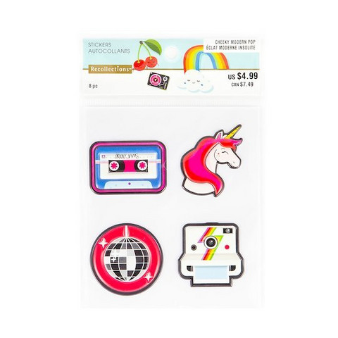 Patch Stickers: Modern Pop Unicorn -tarrapakkaus