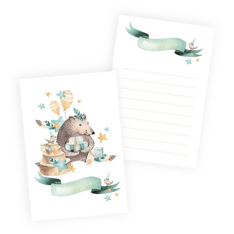 Journal Cards 6x4: Cute & Co 1