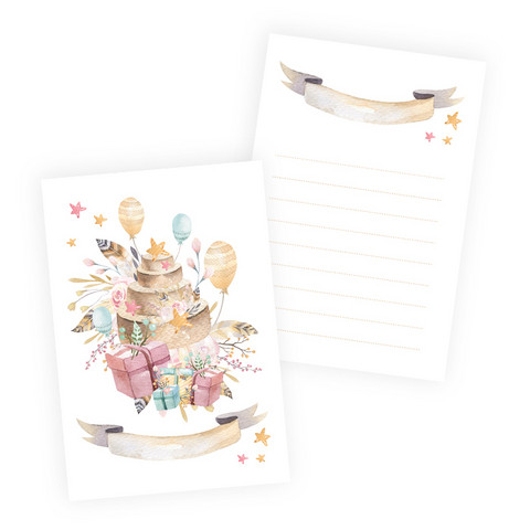 Journal Cards 6x4: Cute & Co 2