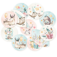 Cute & Co Decoration Tags 1  - koristeet