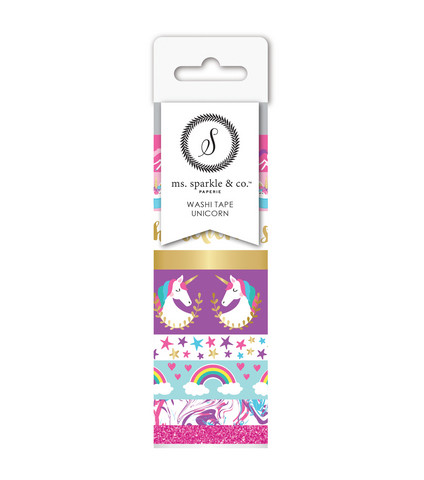 Ms. Sparkle & Co Paperie: Unicorn  -washituubi