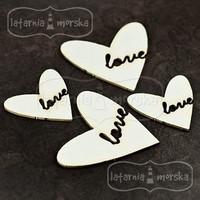 Love Hearts  -chipboardpakkaus