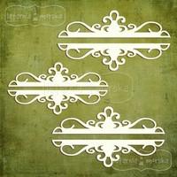 Ornamental Borders  -chipboardpakkaus