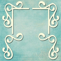 Flourish Ornament Set 3   -chipboardpakkaus