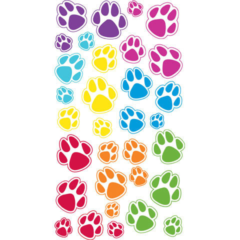 Sticko Epoxy Stickers: Animal Tracks