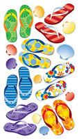 Sticko 3D Metallic Stickers: Flip Floppin