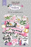 Wedding of our Dreams  Die Cuts -leikekuviopakkaus