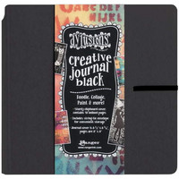 Dylusions Creative Journal 8x8 Black