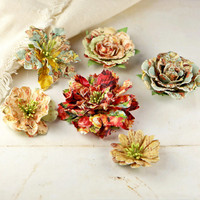 Prima Marketing Flower Embellishments: Jardinere Romantique
