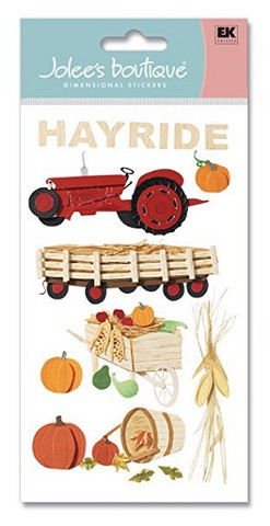 Jolee's Boutique 3D Stickers: Hayride