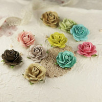Prima Marketing Flower Embellishments: Sugarblooms Sparkling Spring