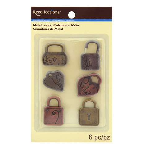 Metal Locks Embellishments