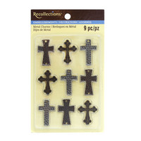 Metal Cross Charms Embellishments