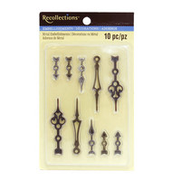 Metal Clock Hands Embellishments