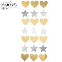 Flea Market Fancy: Hearts & Stars  -peilikoristeet