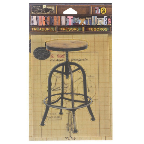 Architextures Treasures:  Drafting Stool