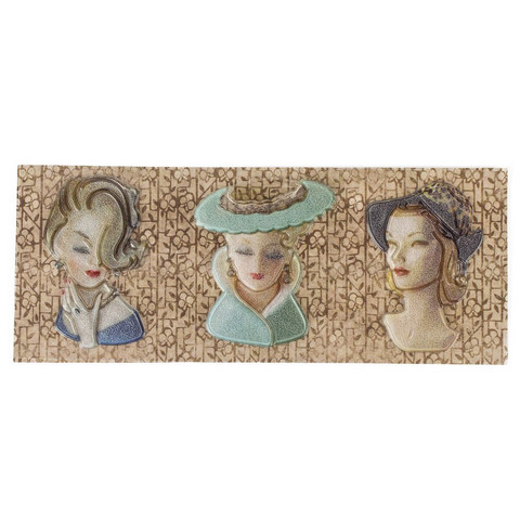 Architextures Trinkets:  Lady Heads