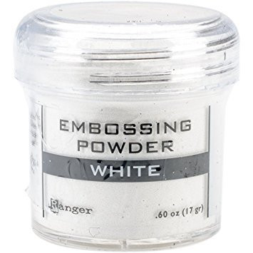 Embossing Powder: White 34ml
