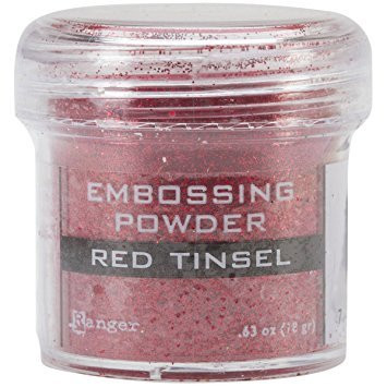 Embossing Powder: Red Tinsel 34ml