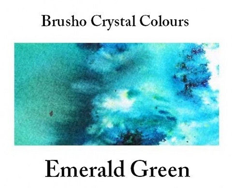 Brusho Crystal Colors -  Emerald Green 15g