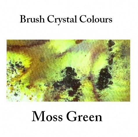 Brusho Crystal Colors -  Moss Green 15g