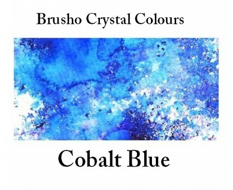 Brusho Crystal Colors -  Cobalt Blue 15g