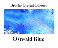 Brusho Crystal Colors -  Ostwald Blue 15g