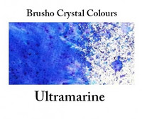 Brusho Crystal Colors -  Ultramarine 15g