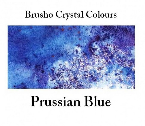Brusho Crystal Colors -  Prussian Blue 15g