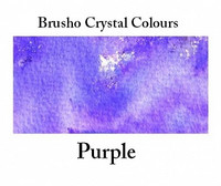 Brusho Crystal Colors -  Purple 15g