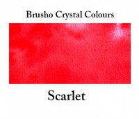 Brusho Crystal Colors -  Scarlet 15g