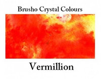 Brusho Crystal Colors -  Vermilion 15g