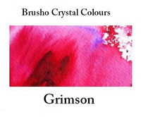 Brusho Crystal Colors -  Crimson 15g