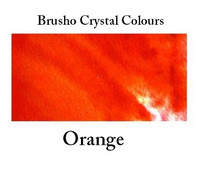 Brusho Crystal Colors -  Orange 15g