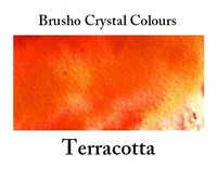 Brusho Crystal Colors -  Terracotta 15g