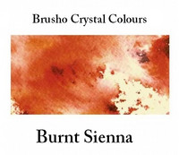 Brusho Crystal Colors -  Burnt Sienna 15g