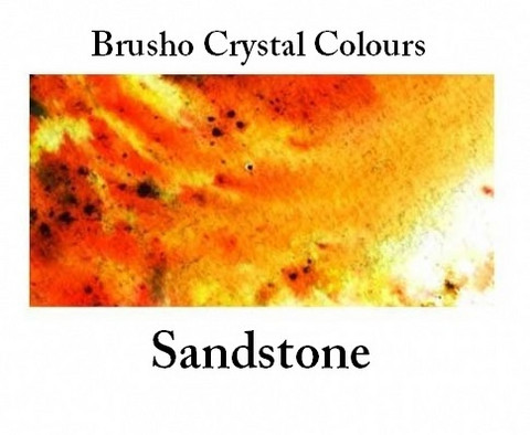 Brusho Crystal Colors -  Sandstone 15g