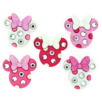 Dress It Up: Disney Minnie Rhinestone Heads -nappipakkaus