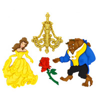 Dress It Up: Disney Beauty and the Beast -nappipakkaus
