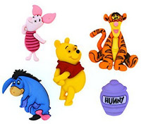 Dress It Up: Disney Winnie the Pooh -nappipakkaus