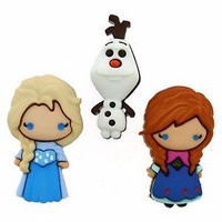 Dress It Up: Disney Frozen Elsa, Anna & Olaf -nappipakkaus