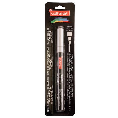 Fine Tip Multi-Surface Premium Oil-Based Paint Pen: Metallic Silver