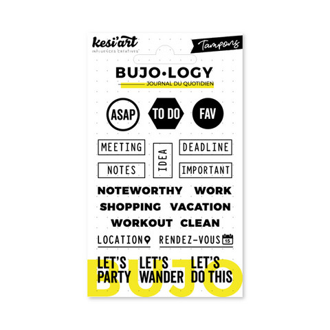 Bujo-logy Clear Stamps : ASAP