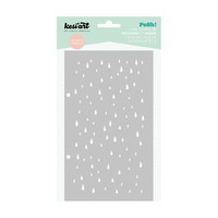 Posh! Stencil : It's Raining - sabluuna